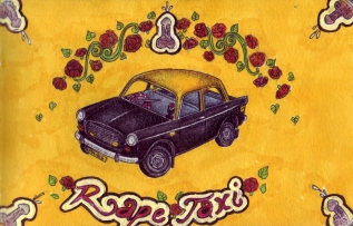 Sketch Book – Rape Taxi
