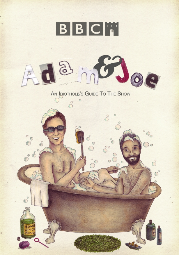 New Cover. Adam and Joe Bathtime