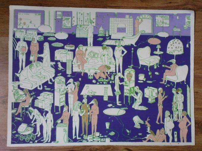 Tea Party Print 4 colours