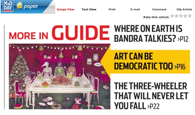Visual Disobedience Featured in the SundayMidday