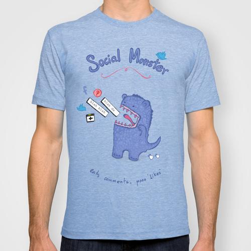 Social Monster Tee