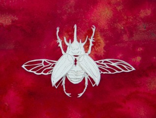 Cut Paper Bugs