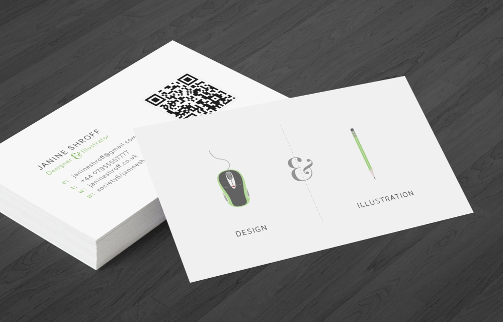 Personal branding cards