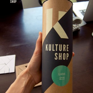 Kulture Shop Art Print Packaging