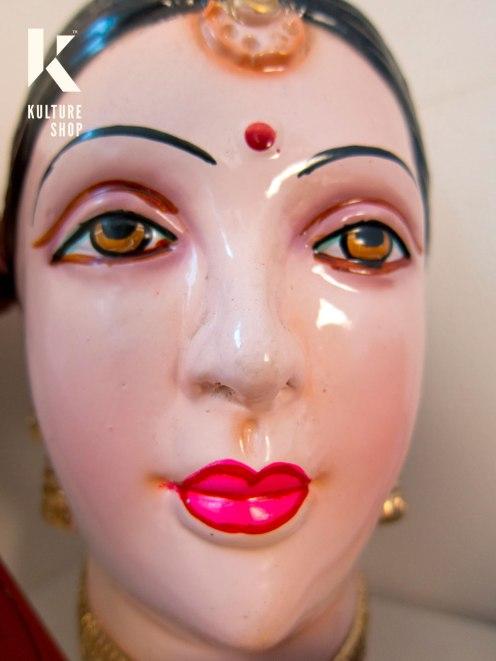 Indian Doll Head at the KS studio