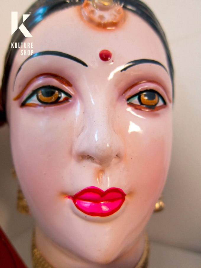 Indian Doll Head at the KS studio