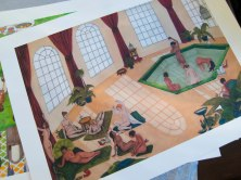 Turkish Bath A2 Print