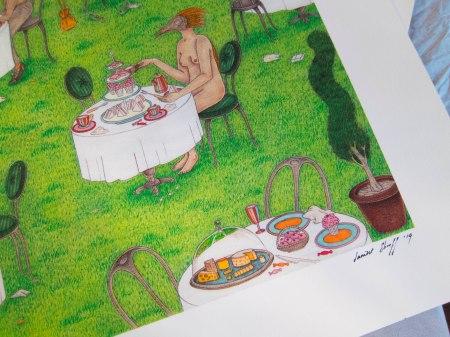 High Tea A2 Print