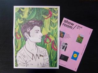 Portrait with Quiff:Showroom