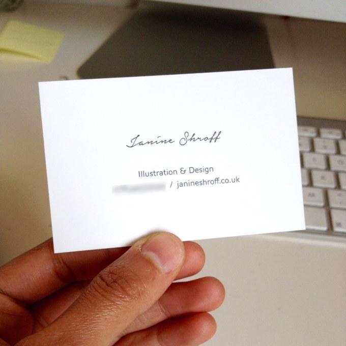 Biz card front