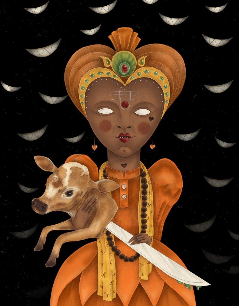 Saffron Queen (Alice In wonderland)