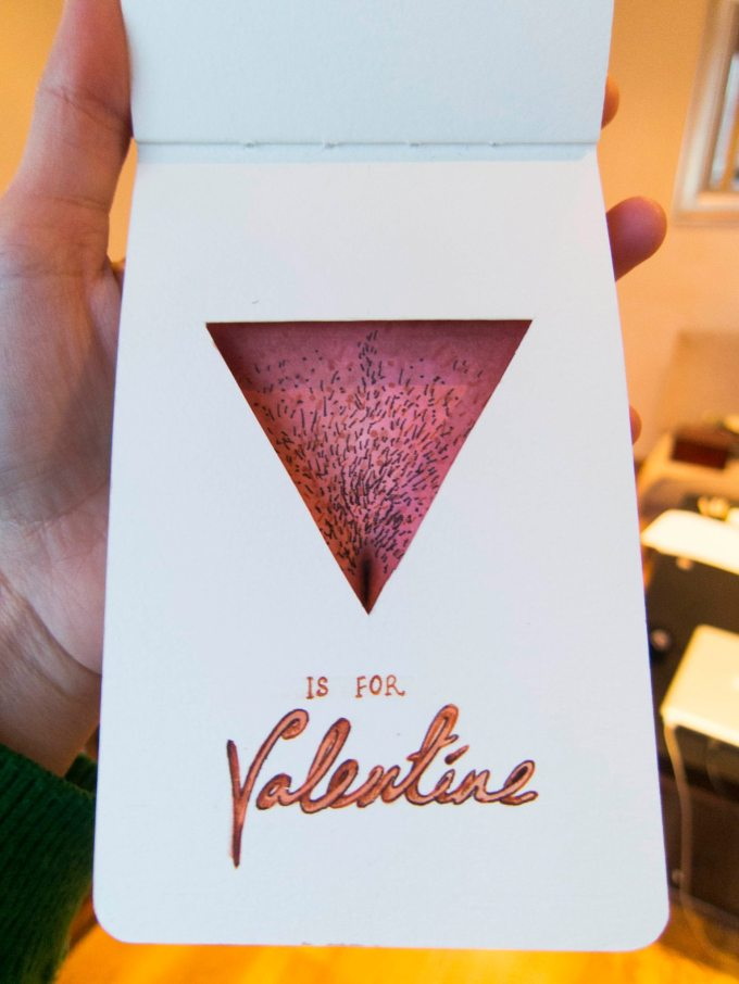 V is for Valentine 3