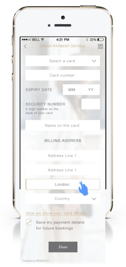 DRY • BY App - 12 - Payment Details