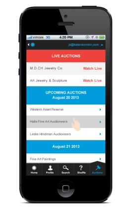 LA iPhone v.2 - 10 - Auctions