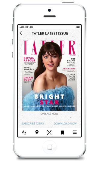 Tatler iPhone5 - 9 - Latest Issue