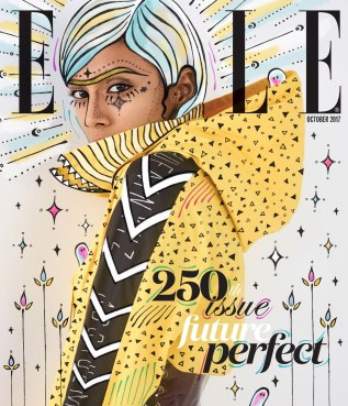 Elle Cover Illustration Oct '17