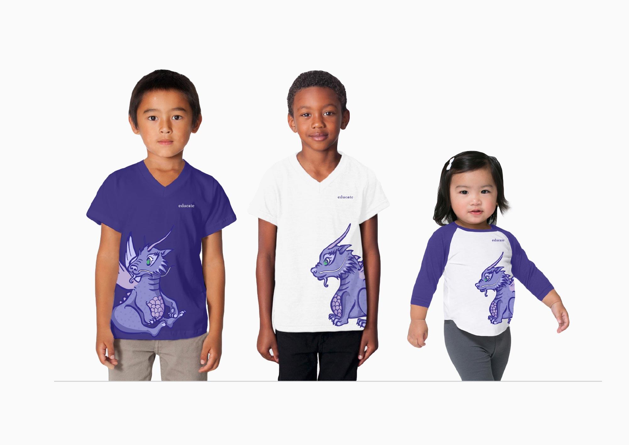 Educate Kids Club | Merchandise Mockups