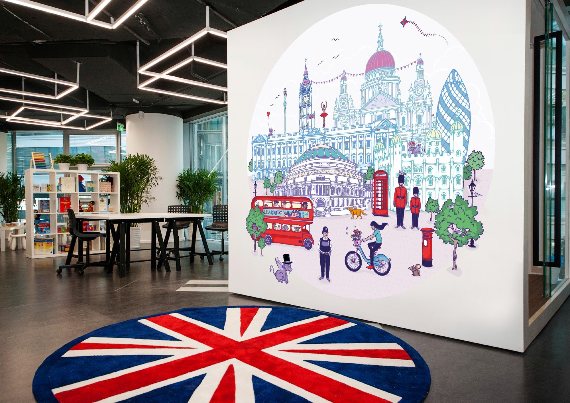 London Mural Insitu