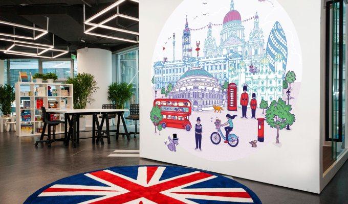 Mural & Mascot for Educate Private KidsClub
