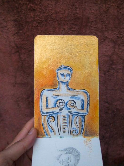 11 Gold Goddess