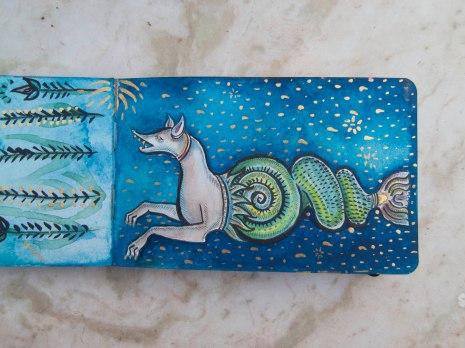 21 Medieval Seahorse Dog