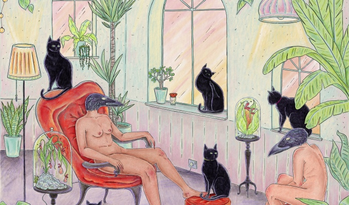 Black Cat KittyParty